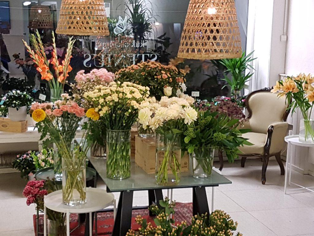 Kukkakauppa Stenius interior